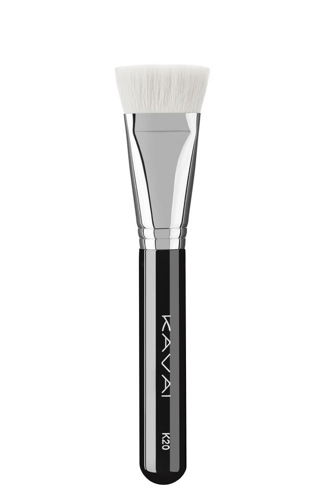 Pędzel K20 do makijażu, pudru, różu, rozświetlaczy