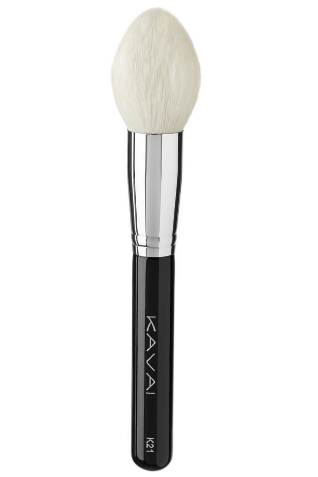 Pędzel K21 do makijażu, pudru, różu