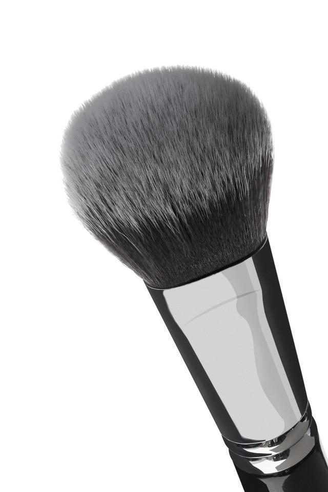 Pędzel K27 do makijażu, pudru, różu, bronzera